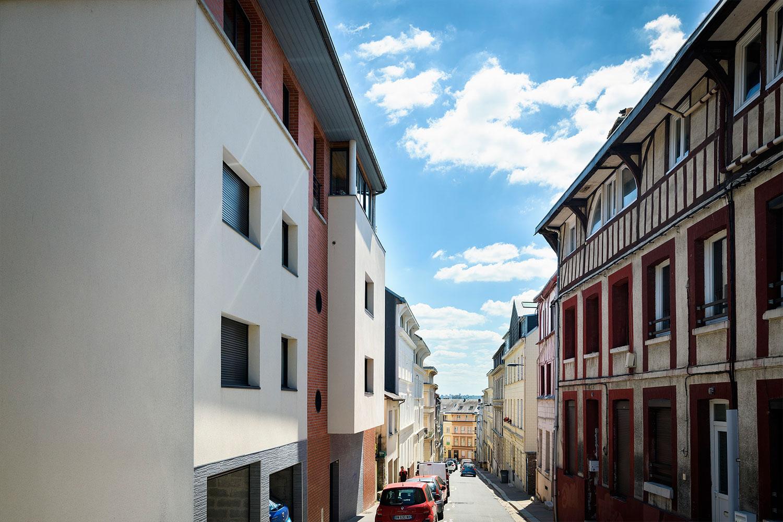 Immeuble de standing à Rouen